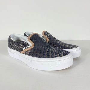 Vans Classic Slip-On Metallic Snake Sneakers